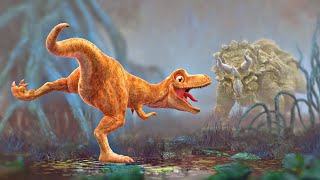 Dinosaur Cartoon for Kids - Pangea Demo - Animation Film