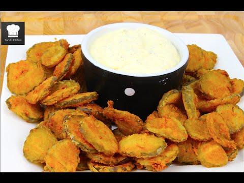 Công thức cho món Fried Pickles