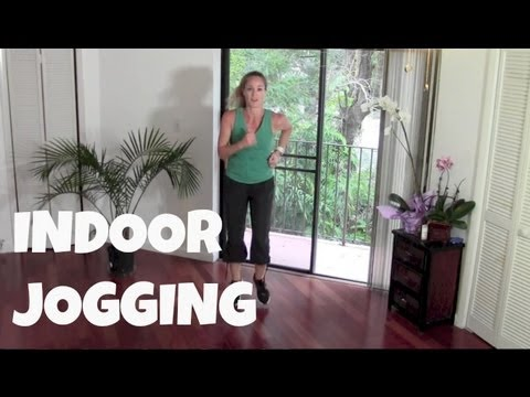 Walking Exercise – Indoor Jogging – Full 40 Minute Fat Burning Cardio Home Workout