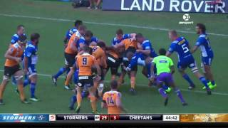 Stormers v Cheetahs Rd.6 Super Rugby Video Highlights 2017