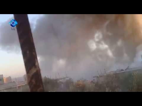 Полуторатонная бомба уничтожила в Сирии бункер боевиков