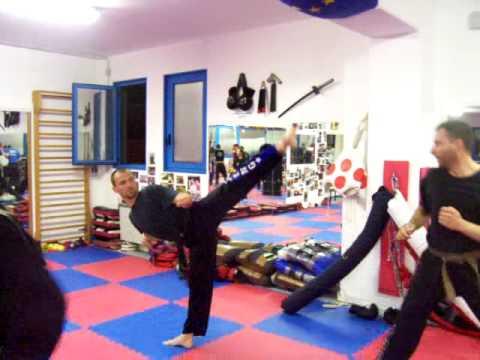 Allenamento adulti team Collovigh corso misto 2009