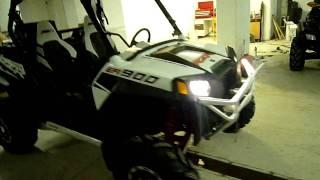 """10. Polaris RZR XPâ""""¢ 900 White Lightning LE SERBIA"""