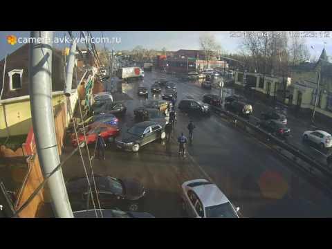 Авария в  Томилино