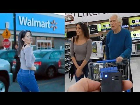 Värisevät pikkuhousut tavaratalossa – mies painaa napista ja nainen ei pystyy juuri ja juuri kävelemään