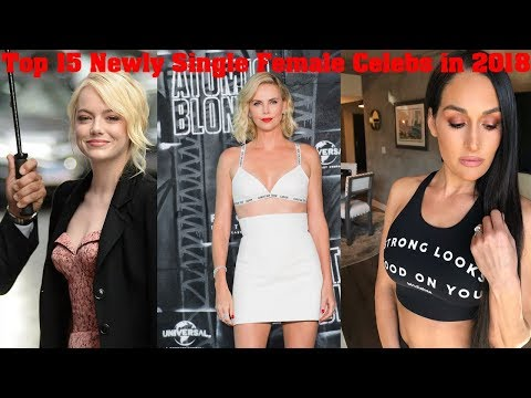 Top 15 Newly Single Female Celebs in 2018 | Shocking News About There Single Life | Top 15  Facts