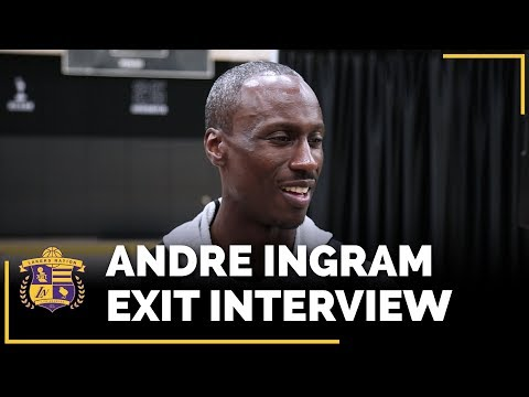 Video: Lakers Exit Interviews 2018: Andre Ingram