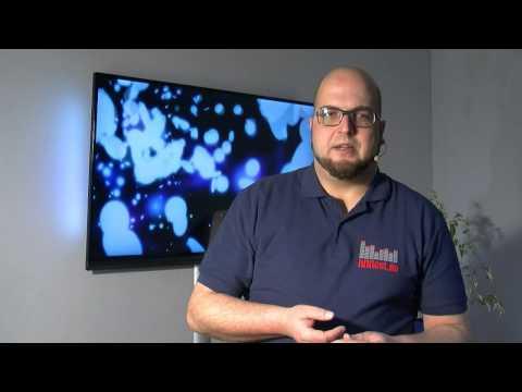 Ultraflache Wandhalterung FULLMOTION XL von Hama (видео)