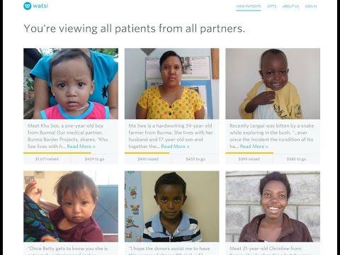 Watsi app: Fund medical treatments around the world