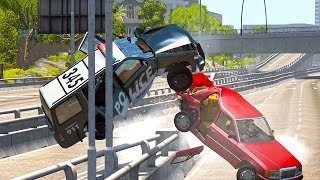 BeamNG Drive - Best of High Speed Crashes #5