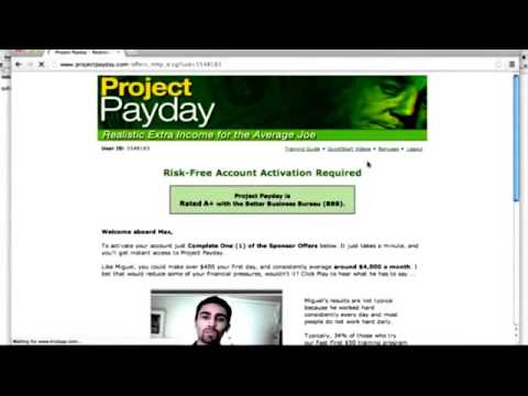 2015 – 2016 Money Making Ideas – See $871.50+ Income Proof As Of 12/23/14  – Project Payday