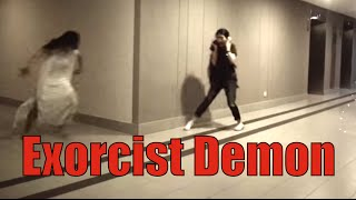 Video Exorcist Demon office prank - Happy Halloween 2014! MP3, 3GP, MP4, WEBM, AVI, FLV Mei 2018