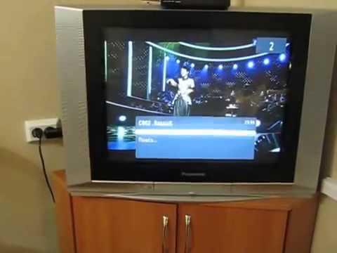 Видео обзор цифрового телевизионного DVB T2 ресивера BBK SMP122HDT2