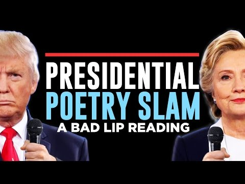 Bad Lip Reading Just Took a Shot at the Presidential Debate, and Roasted Both the Candidates