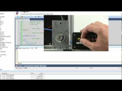 AKD BASIC Interrupt Routine - Two Minutes of Motion Series