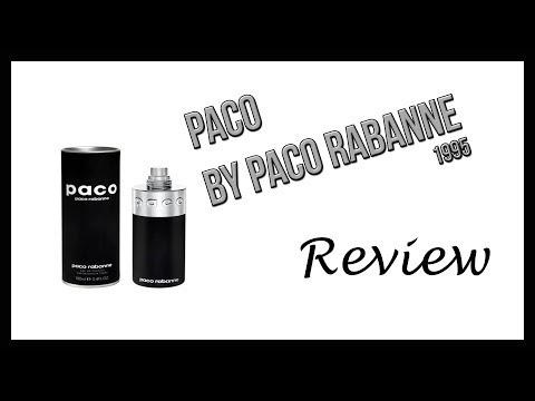 Paco by Paco Rabanne (1995) Review