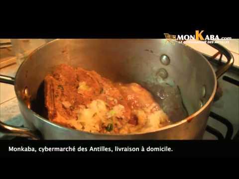 leçon de cuisine antillaise- recette créole- 2014