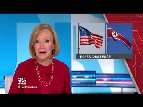 News Wrap: Trump calls North Korea situation 'unacceptable'