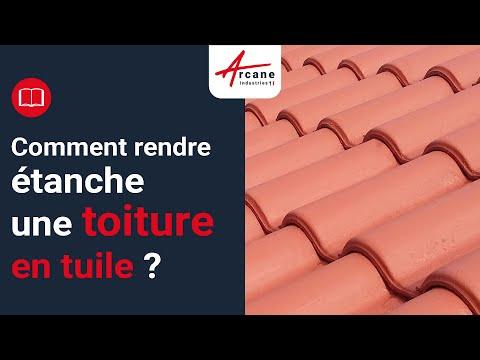 ETANCHEITE TOITURE : PEINTURE D'ETANCHEITE REPARATIONS MATERIAUX CASSES