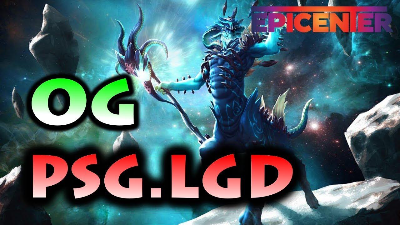REMATCH TI8 GRAND FINAL ! OG VS PSG.LGD - EPICENTER MAJOR GROUP STAGE - YouTube