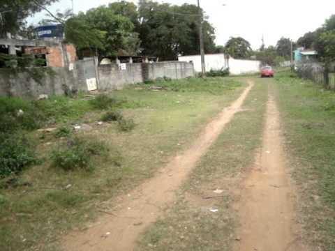 Plantao Maguinho Pit filma rua Vila Pavao sem Asfalto Parque das Gaivotas