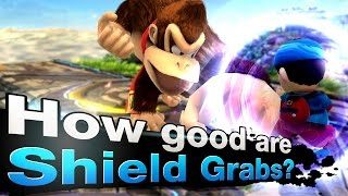 Are Shield Grabs better than Dash Grabs?