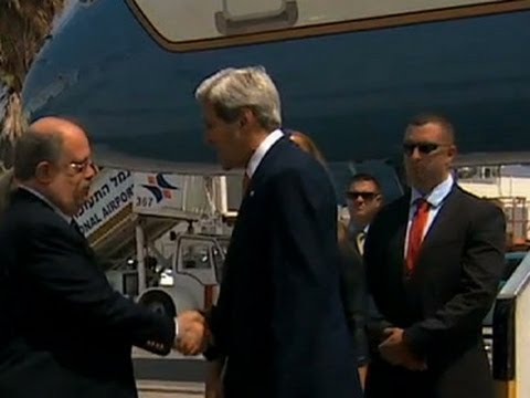 State - US Secretary of State John Kerry arrived in Israel on Wednesday. He is trying to push for a ceasefire to end the fighting between Israel and Hamas. (July 23) Subscribe for more Breaking News:...
