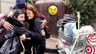 Video Reuniting Homeless Man with his Family after 5 YEARS!! (emotional) | FaZe Rug MP3, 3GP, MP4, WEBM, AVI, FLV Mei 2019