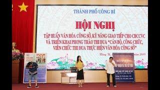 TP Uông Bí: Phát động phong trào thi đua Cán bộ, công chức, viên chức thực hiện văn hoá công sở