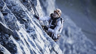 SASHA DIGIULIAN - FIRST FEMALE ASCENT ON NORTH FACE OF EIGER with climbing partner CARLO TRAVERSI by Sasha DiGiulian