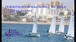 Trailer II Criterium Nacional de Vela Clase Europa