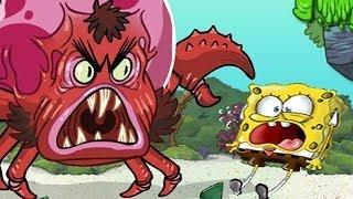 SpongeBob SquarePants Full Episode - Monster Island - Games For Kids