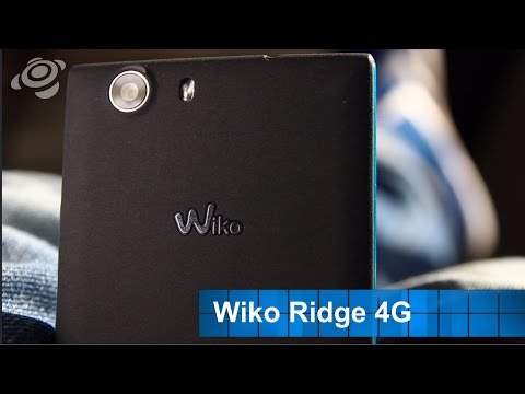 Youtube Video Wiko Ridge 4G in schwarz grau