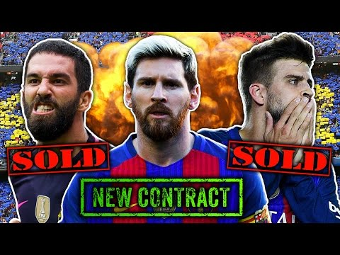Video: Barcelona Forced To Sell Stars To Keep Lionel Messi?! | Transfer Talk