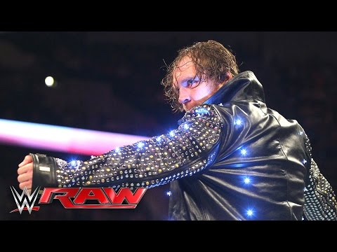 Dean Ambrose destroys Chris Jericho's jacket: Raw, May 9, 2016
