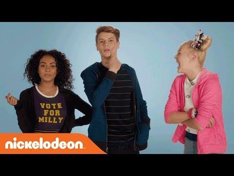 Jace Norman Introduces 'BLURT!' w/ JoJo Siwa & Daniella Perkins | Nick Original Movie