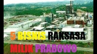 Video 5 BISNIS RAKSASA MILIK PRABOWO MP3, 3GP, MP4, WEBM, AVI, FLV April 2019