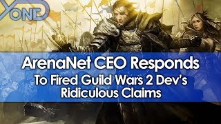 Video ArenaNet CEO Responds to Fired Guild Wars 2 Dev's Ridiculous Claims MP3, 3GP, MP4, WEBM, AVI, FLV September 2018