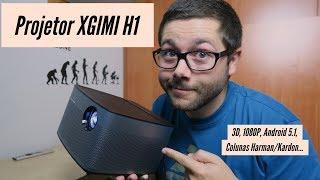 XGIMI H1: Chegou o PROJETOR de SONHO para Cinema em CASA!