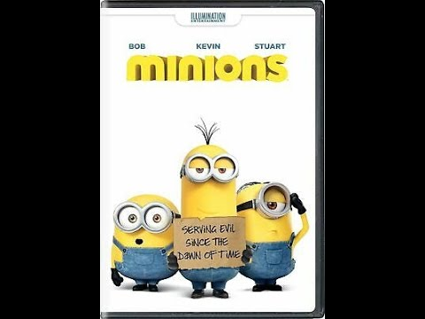 Opening To Minions 2015 DVD (Portuguese Copy)