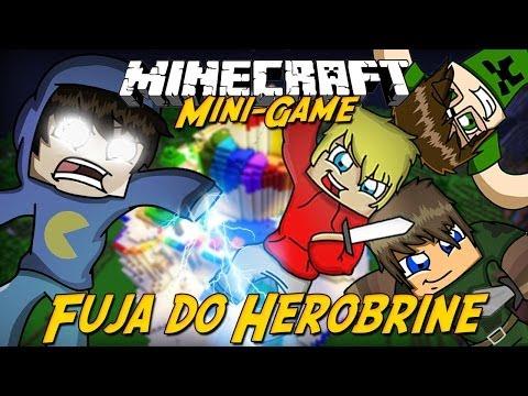 Minecraft: FUJA DO HEROBRINE!