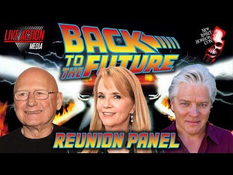 Back to the Future Reunion Panel | NJ Horror Con March 2019 | Lea Thompson Tom Wilson James Tolkan