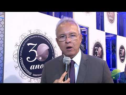 Presidente do Sindifiscal fala dos 30 anos da entidade