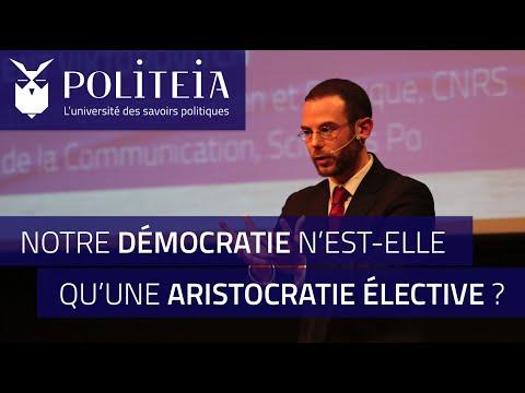 POLITEIA : Notre démocratie n'est-elle qu'une aristocratie élective ?