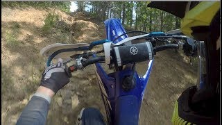 10. 2018 YZ250X first ride with GYTR Weighted Flywheel