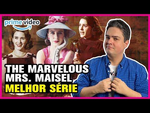 THE MARVELOUS MRS. MAISEL MELHOR SÉRIE AMAZON PRIME VIDEO