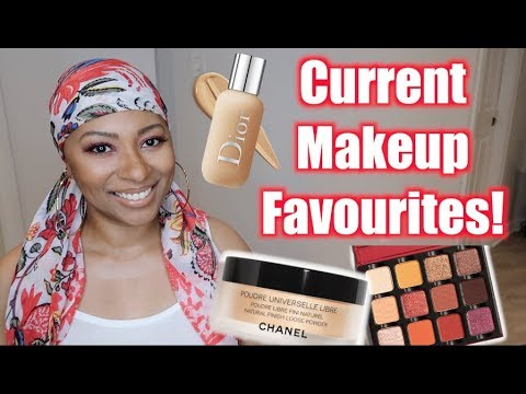 10 Current Makeup Favourites | August 2019