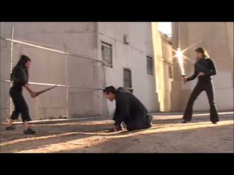 2 Female Fighters Vs. 1 Male Fighter (видео)
