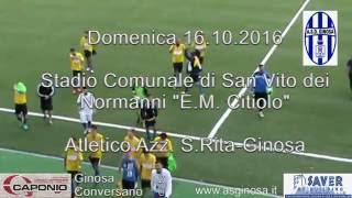 Preview video <strong>GINOSA-CONVERSANO 2-0 Il Ginosa concede il tris e rimane in vetta alla classifica</strong>