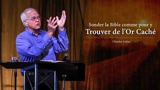 SONDER LA BIBLE COMME POUR Y TROUVER DE L'OR CACHÉ